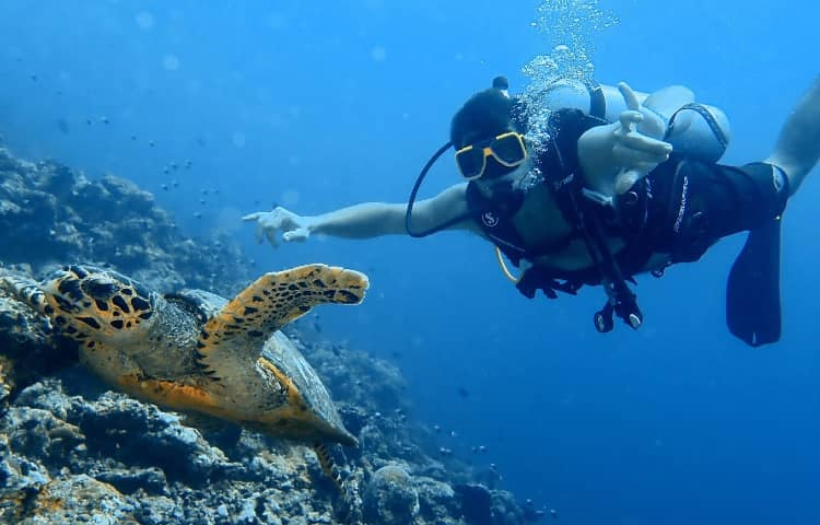 Scuba Diving in Maldives - Family must try